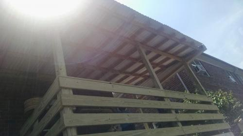 Patio Structure Built From Scratch