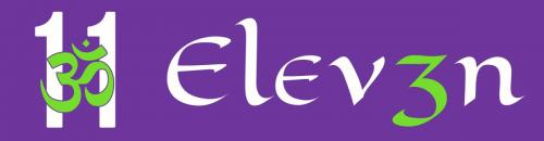 ELEV3N 11 and name side by side Final