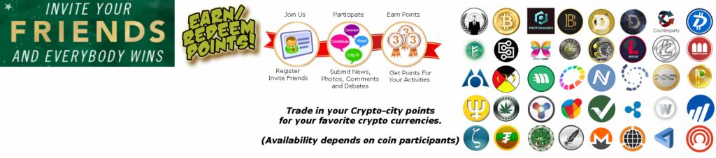 Crypto-city-points
