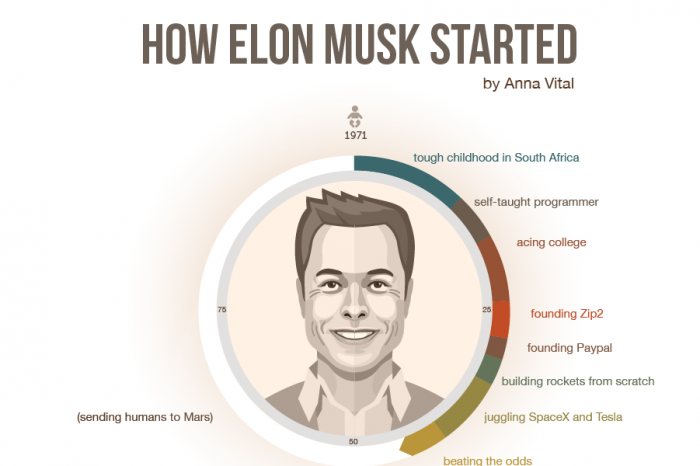how-elon-musk-started-infographic