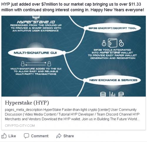 HYP Market Cap