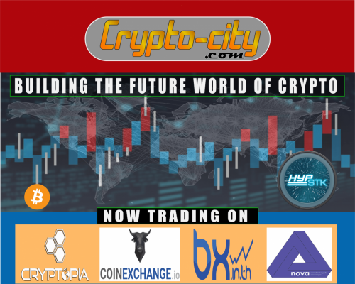 Hyperstake (HYP) Trading Exchanges - Crypto-city - Building the Future World of Crypto