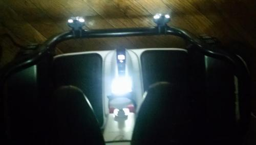 Ninebot Segway Minipro Off-Road Triple Lights Top-Down View