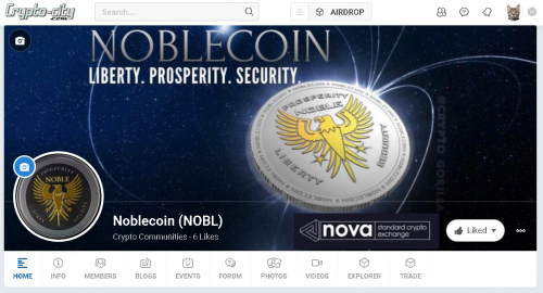 Noblecoin (NOBL) Now Listed On The Swedish Nova Exchange