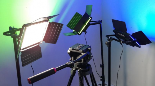 Studio Lights for Crypto-city and Hyperstake (HYP) Media Productions,