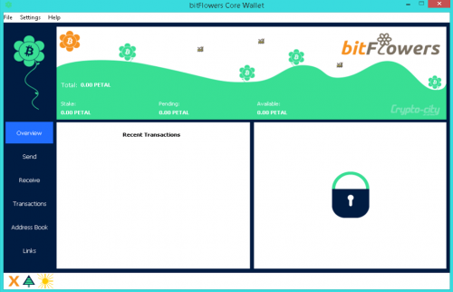 bitFlowers (#PETAL) Crypto Currency Official Wallet Release