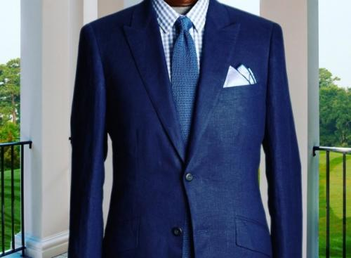 Body Caressing Fit of Suits by Custom Tailors in NYC by Tiefenbrun!
