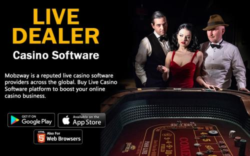 Live Casino Software Provider | Online Live Dealer Casino Solution India