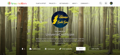 UCCoin forest